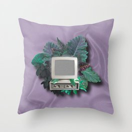 Organic Tech Throw Pillow
