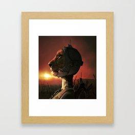 Lioneer Framed Art Print