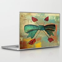 bow Laptop & iPad Skins featuring Bow by Kerri Swayze