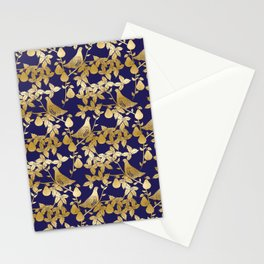 Partridge in a Pear Tree Christmas pattern Stationery Cards