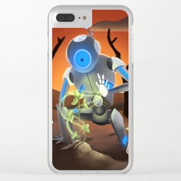 A Robot Grows Clear iPhone Case