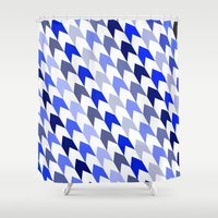 arrows Shower Curtains featuring arrows by haroulita