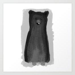 B for Bear Art Print