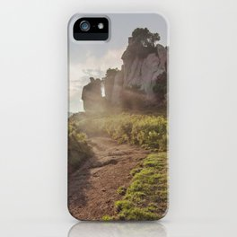 Megalith at sunset iPhone Case