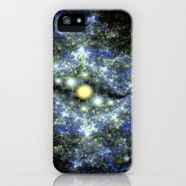 The Starry Sky at Night. iPhone Case