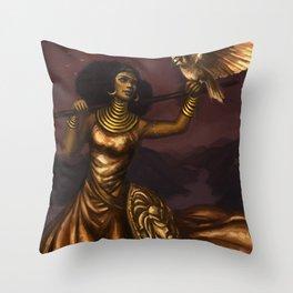 Goddess of Wisdom Throw Pillow