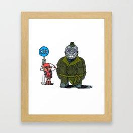 RE: Twotoro Framed Art Print