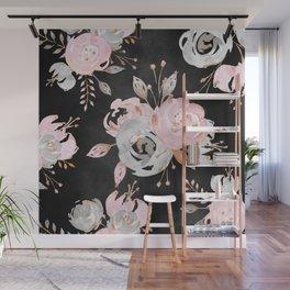 Night Roses 2 Wall Mural