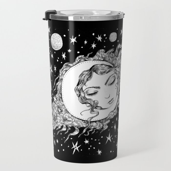 Midnight Muse Moon Love Travel Mug