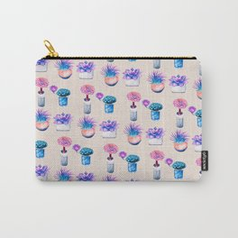 Succulents Cactus pattern Carry-All Pouch