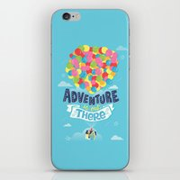 risa rodil iPhone & iPod Skins featuring Adventure is out there by Risa Rodil