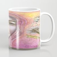 olivia joy Mugs featuring Olivia by Art by Sandy & Mariah Gonyea