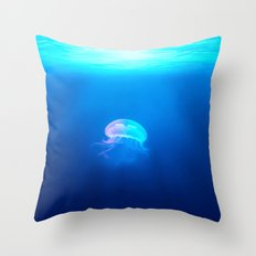 A Jellyfish Throw Pillow