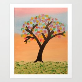 The First Sign of Fall Art Print