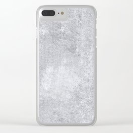Abstract silver paper Clear iPhone Case
