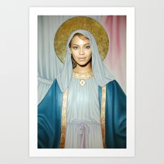 Our Lady of Flawlessness Art Print