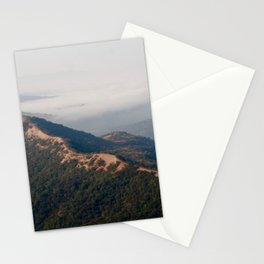 misty mountains Stationery Cards