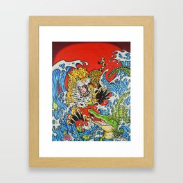 VS one Framed Art Print