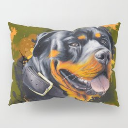 Rottweiler Pillow Sham