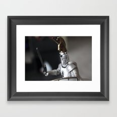 The plastic soldiers Framed Art Print