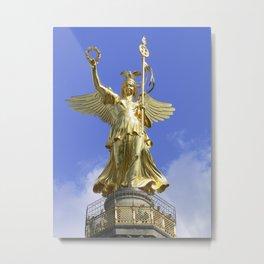 Victory column (Siegessaeule), Berlin Metal Print