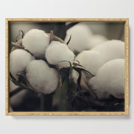 Cotton Field 7 Serving Tray