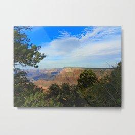Canyon and the Sky  Metal Print