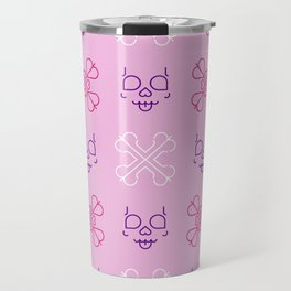 Cute Bones Travel Mug