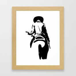 Cowboy Framed Art Print