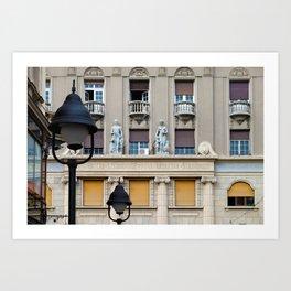 Belgrade / Knez Mihailova Street Art Print