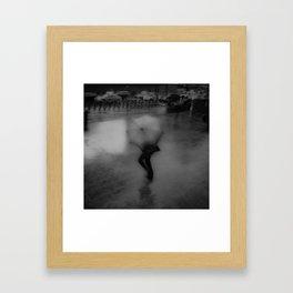 ABSTRACT RAINS Framed Art Print