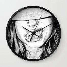 Cabrallin' Wall Clock
