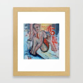 Displacement of Hands and Feet Framed Art Print