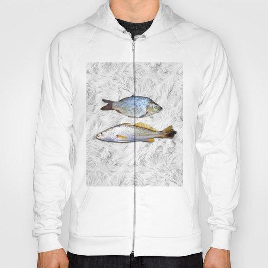 Fish on Fur Hoody