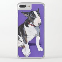 English Bull Terrier Clear iPhone Case