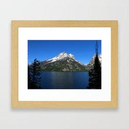 Jenny Lake - Grand Teton NP Framed Art Print