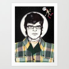 Flight of the Conchords: JEMAINE CLEMENT IN SPACE! Art Print