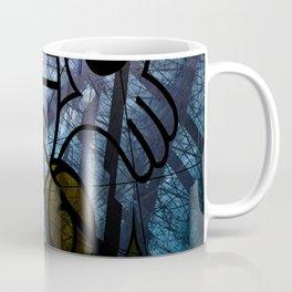 Pirates Flag with Dark Forest 5 Coffee Mug