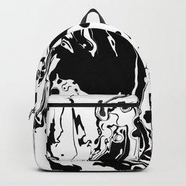 Giraffe Describing a Tablecloth Backpack