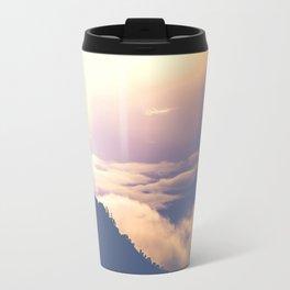 over mountains Travel Mug