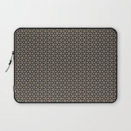 Brown Gold Elegant Pattern Laptop Sleeve