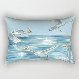 Children of Lir Rectangular Pillow