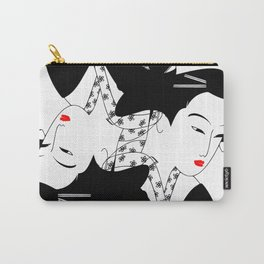 Japanese Girl Carry-All Pouch