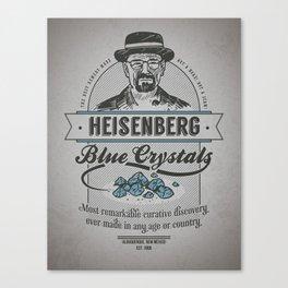 Heisenberg's Blue Crystals Remedy Canvas Print