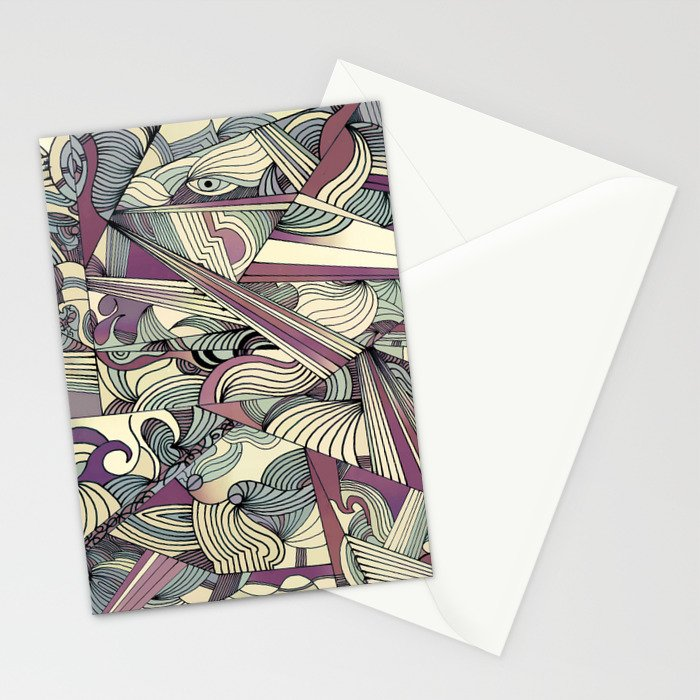 When my Mind Goes Boom. Stationery Cards