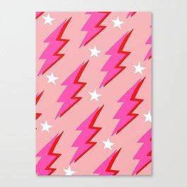 Barbie Lightning Canvas Print