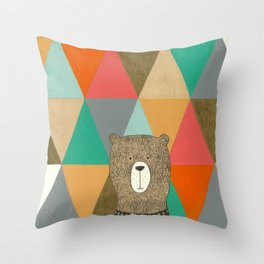 A Friend Throw Pillow