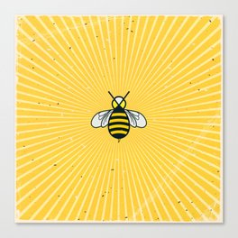 Don t worry – Bee happy – A Hell Songbook Edition Canvas Print