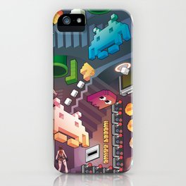 Lost in videogames iPhone Case