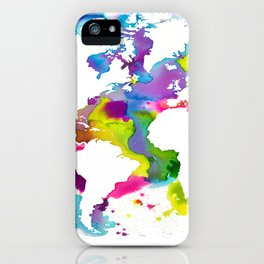 Globe Trotter Jour iPhone Case